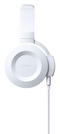 "great white headphones ""ES-FC300"" for mobile lifestyle | headphones & speakers . Kopfhörer & Lautsprecher . casque/écouteur & enceintes |  @ Onkyo |"