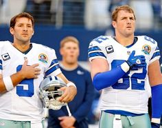 Jason Witten and Tony Romo