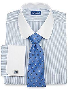 club collar shirt w/ Cufflinks- $20
