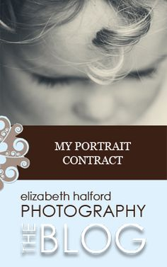 Need help with your portrait contract? Here's what's in mine.