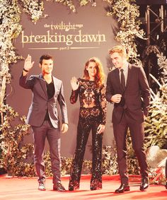 Love this photo!❤❤ BD2 UK Premiere