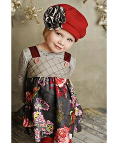 fall clothes, jumpers, red hats, children clothes, the dress, babi, hair bows, child fashion, kid