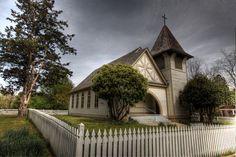 Presbyterian Church - 1889    Historic Washington State Park, AR