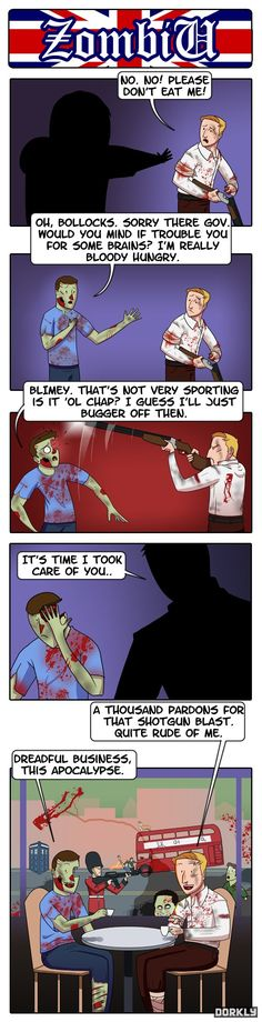 The Problem With British Zombies