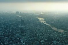 Frosty Downtown London by Frans Zwart, via Flickr