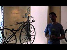 """Recorrido por exposición temporal """"La Bicicleta. Rueda que Rueda""""."""