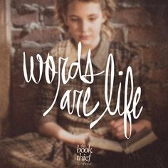 words are life  The Book Thief