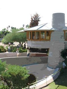 Mid Century Modern -- Classic Frank Lloyd Wright Architecture