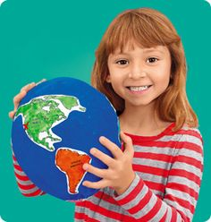Papier-Mâché Globe at Lakeshore Learning
