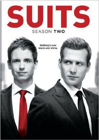 "SUITS: SEASON TWO - The show has some nice punch, and the cast of supporting characters (especially Rick Hoffman as the deliciously smarmy Louis Litt) makes for a fun ride at an hour a pop. There's a danger of falling into the greed factor (leading to no sympathy from me) that ""Royal Pains"" dives into every week, but fortunately that hasn't happened yet."