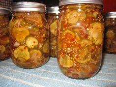 butter pickl, pickl recip, spici bread