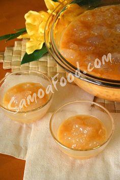 (Samoa) Pisua- Tapioca in Coconut Caramel