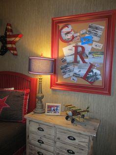 Framed Cork Board Design,