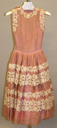 1950's Norman Norell Cocktail Dress