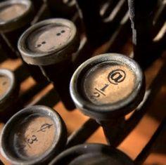 <3 typewrit key, herb, antique keys