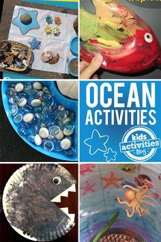 8 Fun Ocean Activities - http://kidsactivitiesblog.com/46951/ocean-activities