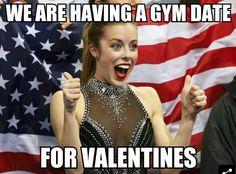 valentines day meme gym