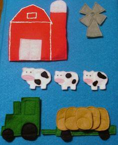Farm Felt Set