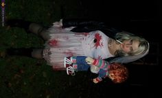 chucky costumes for kids | Bride Of Chucky Halloween Costume For Kids