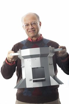 Ashok Gadgil is a professor at UC Berkeley. But in his spare time, he's come up with solutions for water, cooking, and energy quandaries, improving lives from the Sudan to India. How's he do it?  via Co.Exist