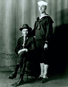 Walt and Roy, Chicago, 1917.