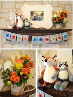 Fox-themed First Birthday Party Ideas - #firstbirthday