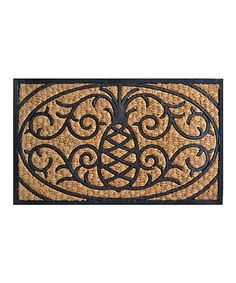 Take a look at this Pineapple Doormat by Imports Décor on #zulily today! $12