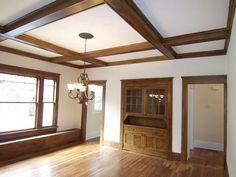Dining Room Built-in After - Nicely done restoration