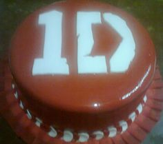 torta de chocolate one direction