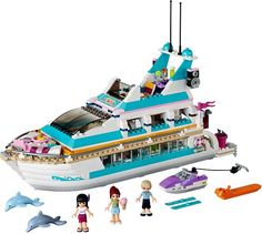 Lego Friends Dolphin Cruiser - Comes out August '13 Cruise Ship Boat