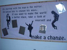 Anti-bullying bulletin board.
