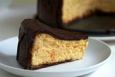 New York Cheesecake - With a Chocolate Coffee Glaze