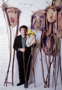 STASYS Retrospektywa - Photo-could be a very cool art project idea...hmmmmm.self-portrait/mask