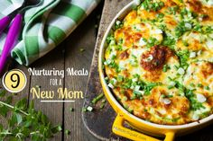 Nine Nurturing Meals for New Mom - Holistic Squid