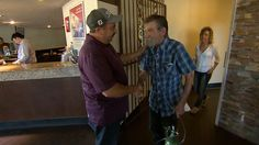 Good Samaritan reunites with man he saved from burning house