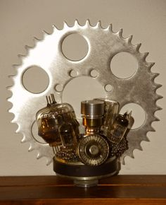 GEARS AND TUBES DECOR
