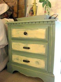 painted furniture ideas & inspiration #nestvintagemodern