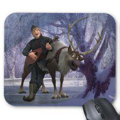 frozen gift, sven and kristoff, frozen room, frozen sven, frozen mousepad, kristoff mousepad, disneyfrozen, disney frozen