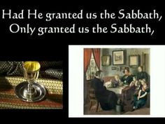▶ Dayenu: Passover Song with lyrics - YouTube