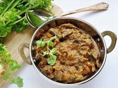 Mushroom Masala... hate mushrooms?  Give this one a try!