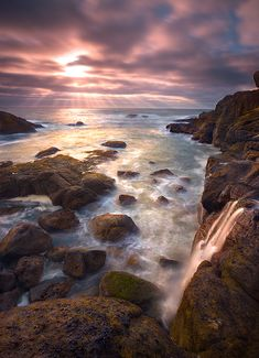 Out to Sea by Marc Adamus