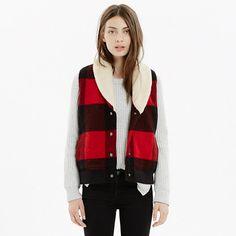 Woolrich Buffalo Plaid Vest