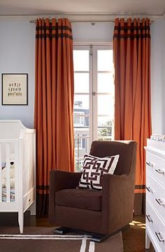 Great window treatments.  Love the banding
