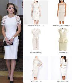 Shop repliKates of the Lela Rose peplum dress