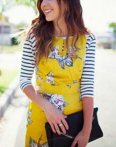 mixing patterns, mix pattern, layer dress, outfit, closet, print