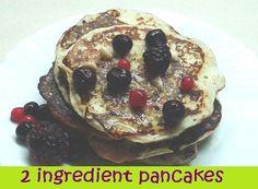 2 Ingredient Pancakes | Hiit Blog