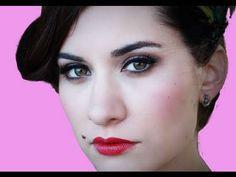 50's pin up makeup! LOVE