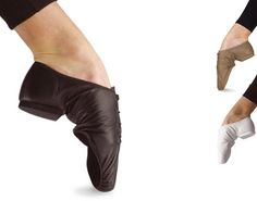 Ref: PSS  So Danca's split sole leather jazz shoe with a flexible suede leather sole.