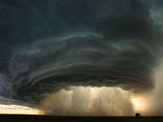Montana Thunderstorm, freaky