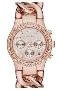 Rose Gold Watch.
